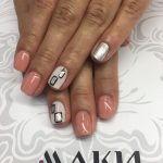 Ногтевой дизайн в салонах Маки